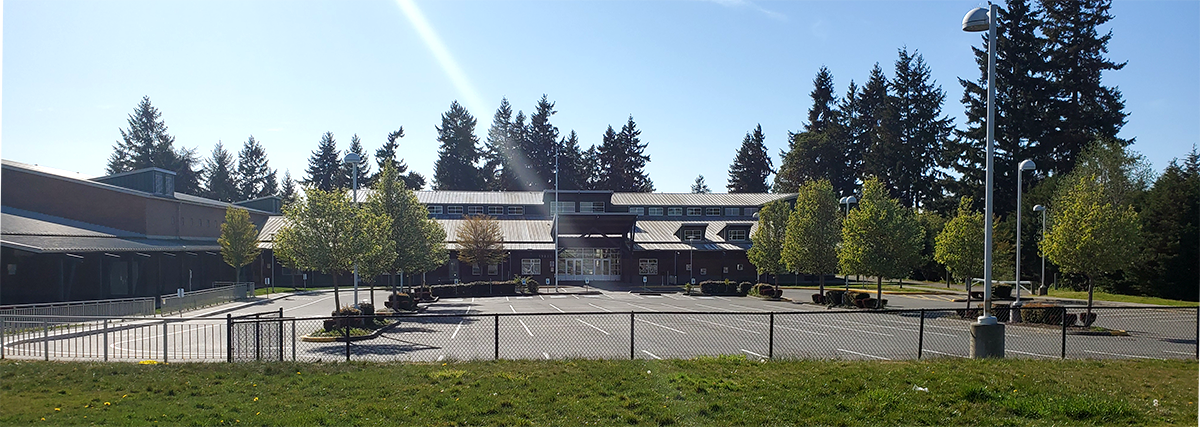 Exterior of NHE